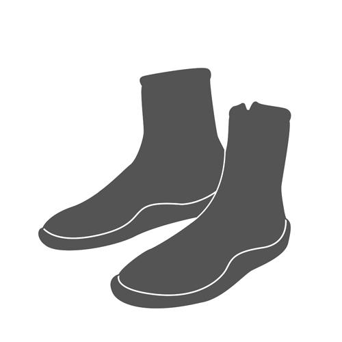 IMPACT / CRESSI Zipboots met rits 7 mm Mt 39