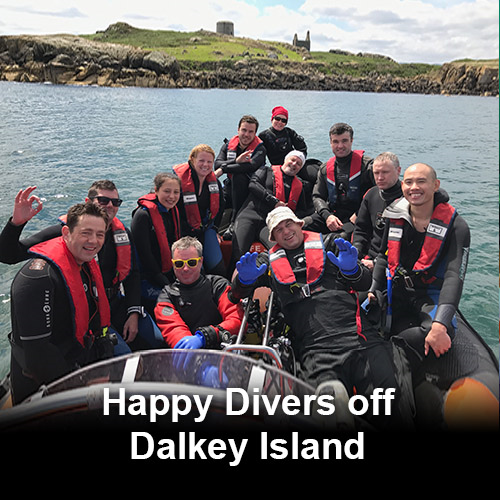 Dublin Bay Boat Dive (Local sites)
