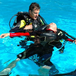 PADI Open Water Diver, PADI Advanced Open Water Diver, Emergency First Response and PADI Rescue Diver. Normally £1183