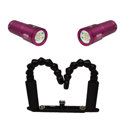 Vl4200p Dual Lights With Extentable Flexi Arm Tray