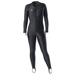 Chillproof One Piece Suit With Front Zip - Ladies