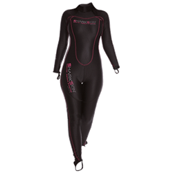 Chillproof One Piece Suit With Back Zip - Ladies