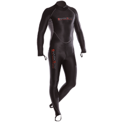 Chillproof One Piece Suit With Back Zip - Mens
