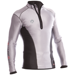 Climate Control Long Sleeve Top With Chest Zip - Mens