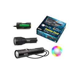 Combo Pack Al450 Nm / Al1200 Np Ii & Easy Clip Rainbow Colour Light