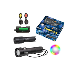 Combo Pack Al450 Wm / Al1200 Wp Ii & Easy Clip Rainbow Colour Light