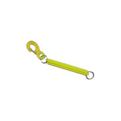 Lanyard Coil Clip Yellow