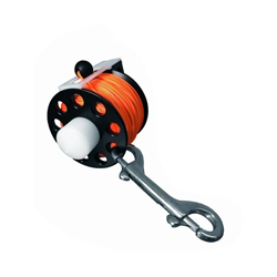 Reel Divepro With Hook 66ft Orange