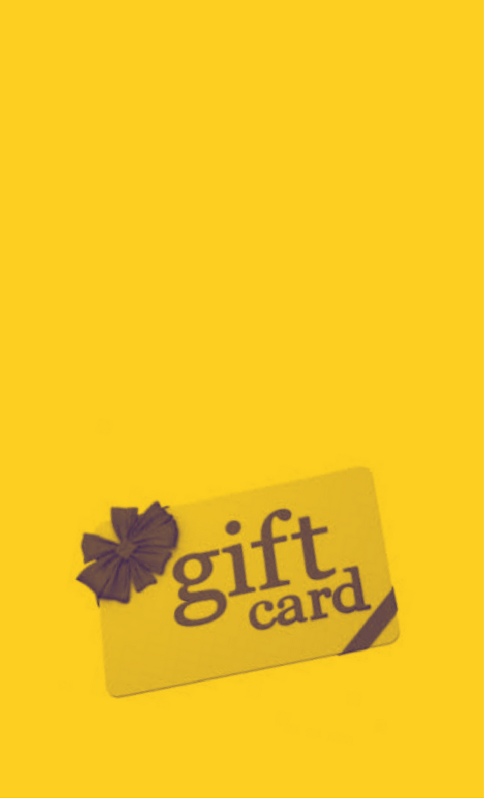 GIFT VOUCHERS - for that special someone