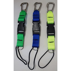 Split Ring Lanyard Blue
