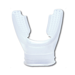 Mouthpiece Silicone Long Bite - Clear