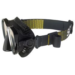 Mask Strap Comfort Scubapro Black/yellow