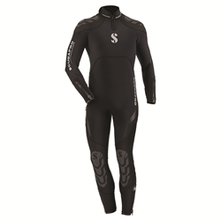 Everflex Steamer 5/4mm B-zip Mens 2xl Black (2016)