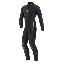 Everflex Steamer 7/5mm B-zip Mens 2xl Black (2016)