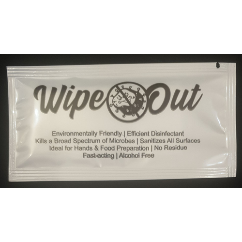 WipeOut - wipes - 50 Pack