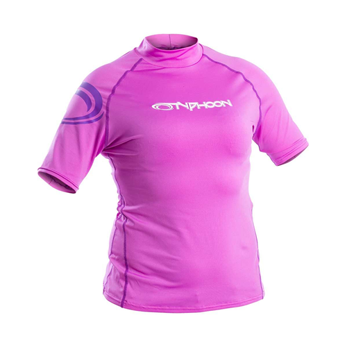 Ladies S/S Rash Vest