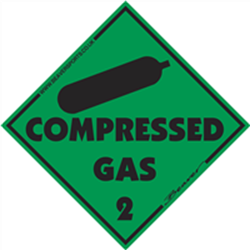 Magnetic Compressed Gas Symbol