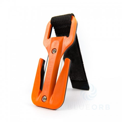 Eezycut Trilobite Yellow/ Orange W. Orange Velcro  Flexi Pouch - 2 Spare Blades