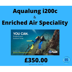 Package: Enriched Air Speciality With Aqualung I200c
