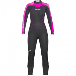 Bare Velocity Lady Full Suit 5mm