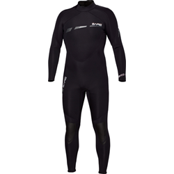 3/2mm Sport S-flex Full Black - Men