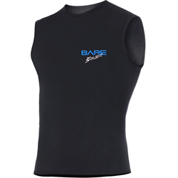 3mm Sport S-flex Vest Black - Men