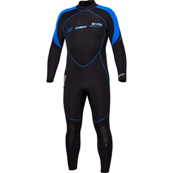 5mm Sport S-flex Full Blue - Men
