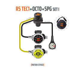 Regulator R5 Tec1 Set I With Octo And Spg - En250a