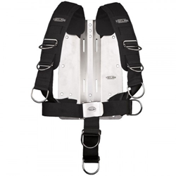 Harness Tecline Comfort (adjustable) Standard Webbing -  Incl. 3mm Ss Backplate