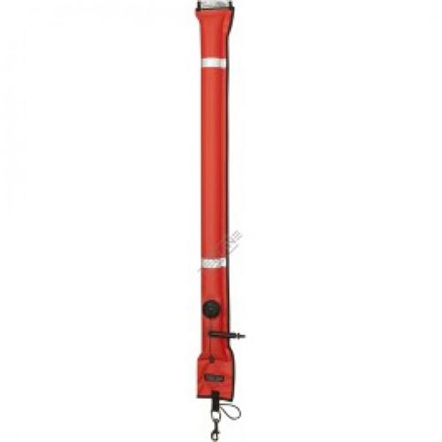 Closed buoy 22/180 cm, OPR valve, metal oral valve - orange