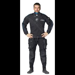 D7 Pro Iss Cordura Drysuit Men Size Xs