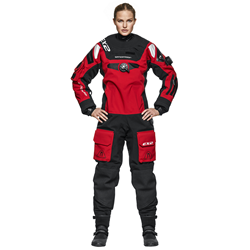 Ex2 Diving Suit, Red Lady Size Xs