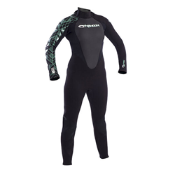 Ladies Storm 3mm - Black/aquagreen