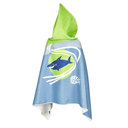 Sealife Hooded Towel