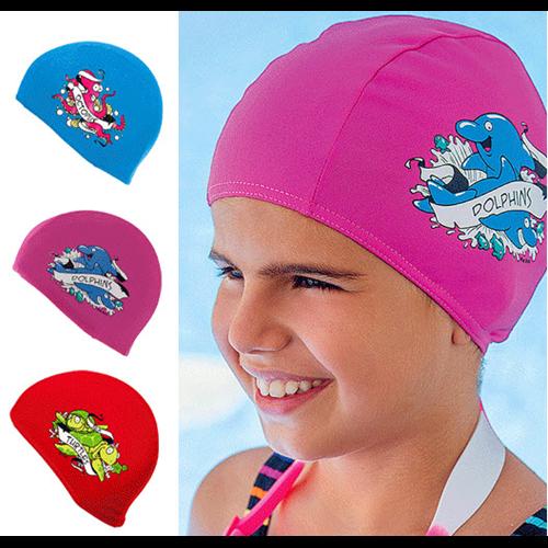 Children Fabric Swim Hat