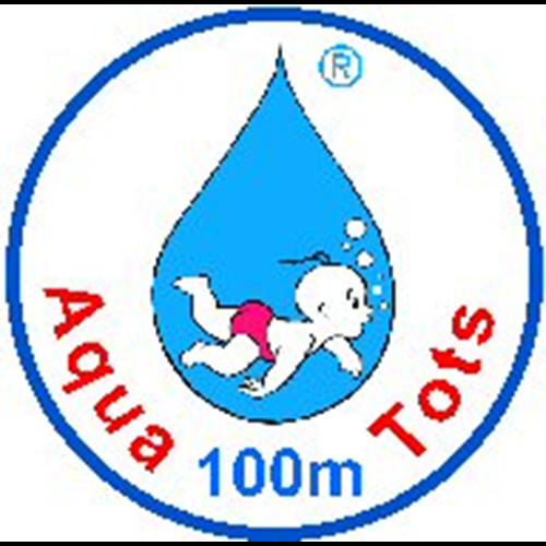 100 Meter Badge