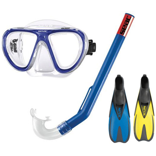 Child's Mask Fins and Snorkel Set