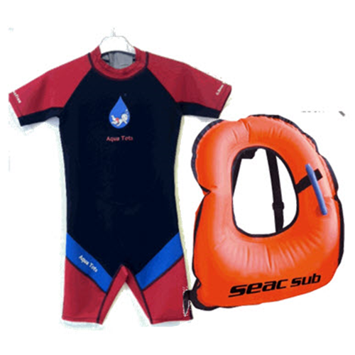 Wetsuit and Snorkelling Jacket Package